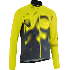 Gonso Julier Full-Zip Langarm Trikot Herren safety yellow